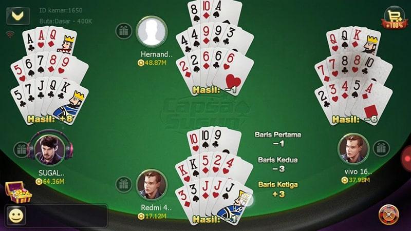 capsa susun online judi poker terbaik indonesia